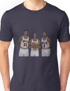 Bulls Big Three Unisex T-Shirt