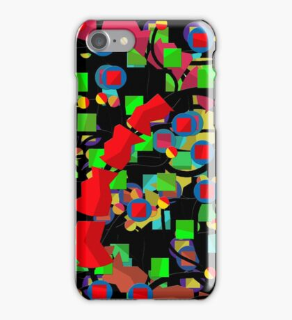 Colorful situation  iPhone Case/Skin