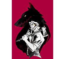 Bib Bad Wolf Photographic Print
