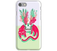 Cat Skull Garden iPhone Case/Skin