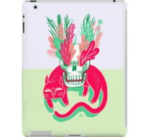 Cat Skull Garden iPad Case/Skin