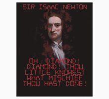 Oh Diamond Diamond - Isaac Newton One Piece - Long Sleeve