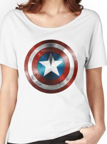 CAPTAIN AMERICA Women's Relaxed Fit T-Shirt