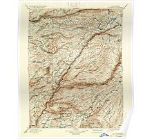 USGS TOPO Map California CA Big Trees 299224 1901 125000 geo Poster