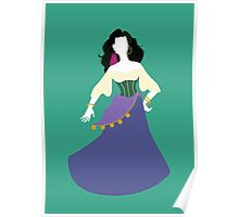 Disney - Esmeralda from The Hunchback of Notre-Dame Poster