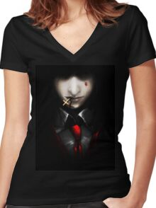 Lord A. Women's Fitted V-Neck T-Shirt