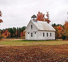 The Old Schoolhouse on Maple Ridge by T.J. Martin