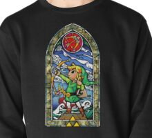 LoZ Bow and Arrow Stained Glass Pullover