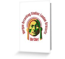 The Chief 2 Greeting Card