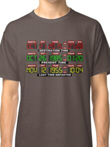 TIME CIRCUITS ON! Classic T-Shirt