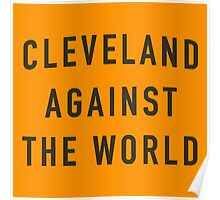 Cleveland Against The World  Poster