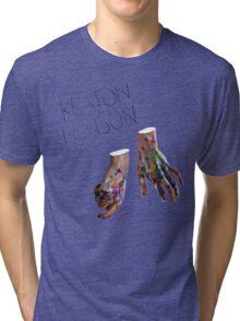 Keaton Henson - Hands Artwork Tri-blend T-Shirt