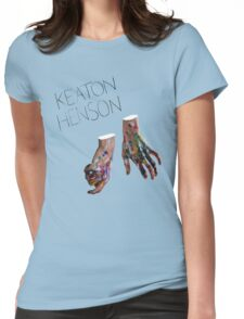 Keaton Henson - Hands Artwork Womens Fitted T-Shirt