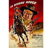 john wayne poster movie classic Photographic Print