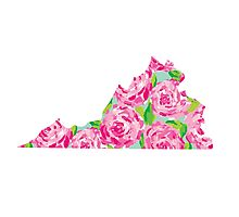 Virginia Lilly Pulitzer Roses Photographic Print