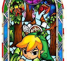LoZ Boomerang Stained Glass by CutieFruity