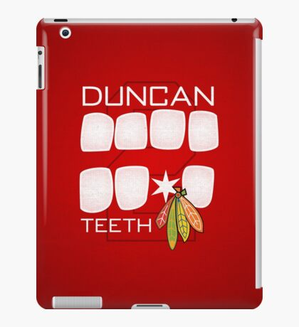 Duncan Teeth iPad Case/Skin
