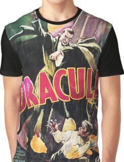 Vampire Poster Graphic T-Shirt