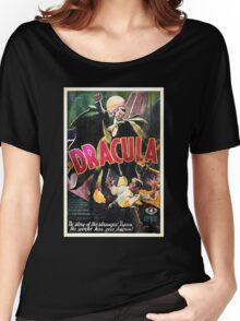 Vampire Poster Women's Relaxed Fit T-Shirt