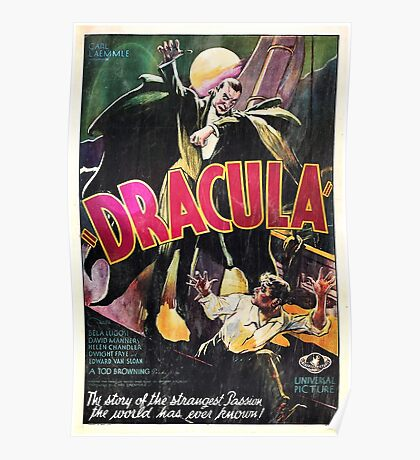Vampire Poster Poster