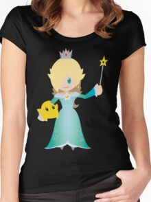 Chibi Rosalina Vector Women's Fitted Scoop T-Shirt