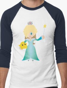 Chibi Rosalina Vector Men's Baseball ¾ T-Shirt