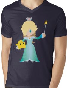 Chibi Rosalina Vector Mens V-Neck T-Shirt