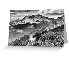 Crystal Ridge Express Greeting Card