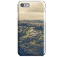 Across the lava plains iPhone Case/Skin