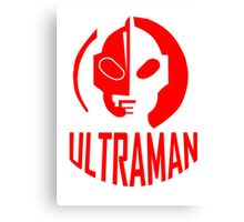 ultraman retro Canvas Print