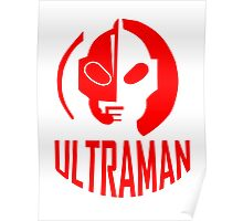 ultraman retro Poster