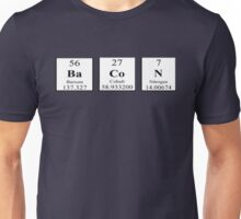 Bacon Periodic Table Unisex T-Shirt