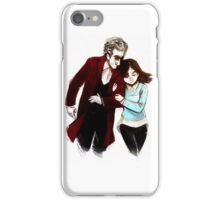 The Doctor and Clara  iPhone Case/Skin