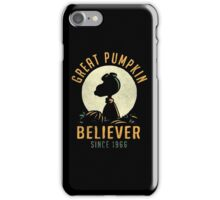 The Great Pumpkin Believer iPhone Case/Skin