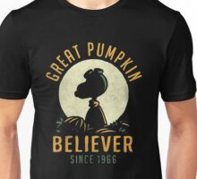 The Great Pumpkin Believer Unisex T-Shirt