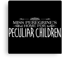 Miss Peregrines Home For Peculiar Children The Movie Canvas Print