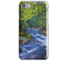 Whitewater Stream in Lush Forest iPhone Case/Skin