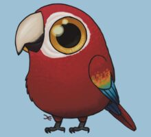 Cute Fat Macaw Kids Tee