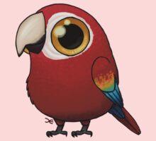 Cute Fat Macaw Kids Tee
