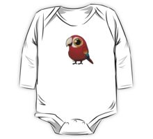 Cute Fat Macaw One Piece - Long Sleeve