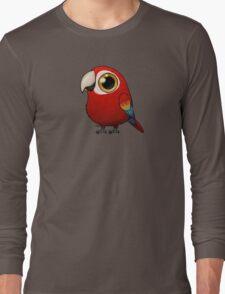 Cute Fat Macaw Long Sleeve T-Shirt
