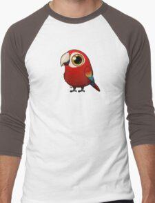Cute Fat Macaw Men's Baseball ¾ T-Shirt