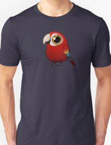 Cute Fat Macaw Unisex T-Shirt