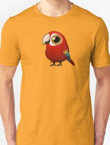 Cute Fat Macaw Unisex T-Shirt