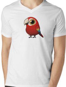 Cute Fat Macaw Mens V-Neck T-Shirt