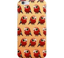 Cute Fat Macaw iPhone Case/Skin