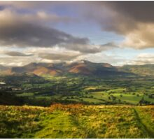 The view from Latrigg Sticker
