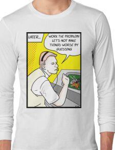 Apollo 13 Pop Art Long Sleeve T-Shirt