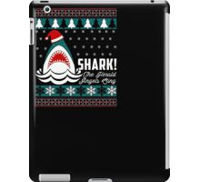 SHARK! THE ANGEL SING T-Shirt merry funny christmas iPad Case/Skin