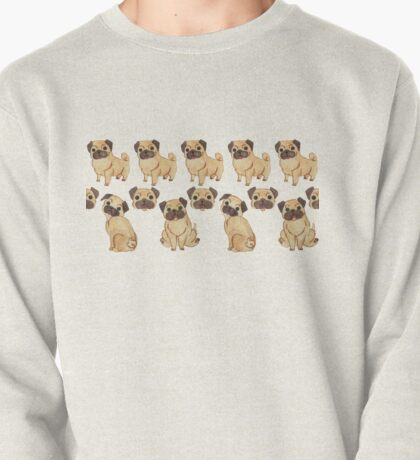 //Pugs Galore//  Pullover